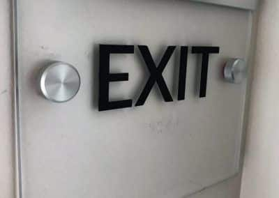 Tessie Cleveland- Exit Sign