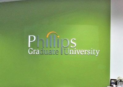 Phillips Lobby Sign